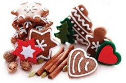 These honey spice cookies can be given as gifts or used for decorations on the tree, wrapped in cellophane and eaten on Christmas morning.