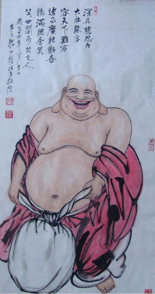 Laughing Buddha, He must have Eating Disorder, but he is happy!