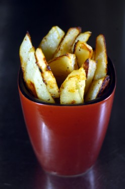Oven Fries Made The Healthy Way