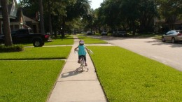 It's bicycling season - time to go over the bicycle safety rules with your kids.