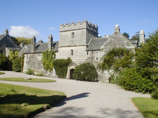 The fortified Tudor house at Cotehele