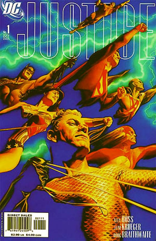 Justice - Illustrated by Alex Ross and written by Jim Krueger