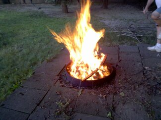 Campfires are fun! Make sure you know how to build and maintain one safely!