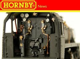 Hornby BR  Standard Class 4 cab detail