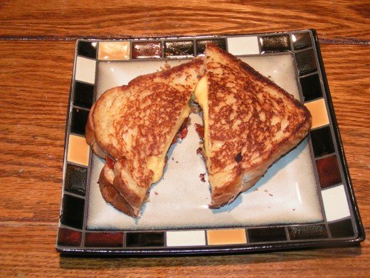 Try my Ultimate Grilled Cheese Sandwich. You will not be disappointed!