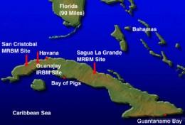 Florida and Cuba Map