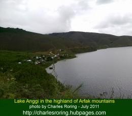 Lake Anggi in Arfak mountains - a beautiful trekking destination in Manokwari regency