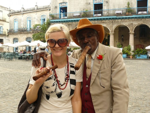 Cuba With a local Eccentric