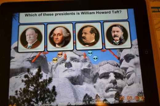 Screen Capture of President vs. Aliens
