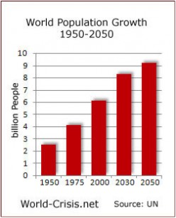 Population, Production and Consumption