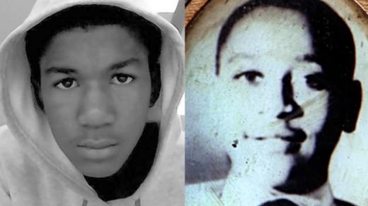 Trayvon Martin / Emmett Till