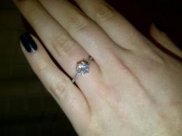 A beautiful 1.25 carat ring