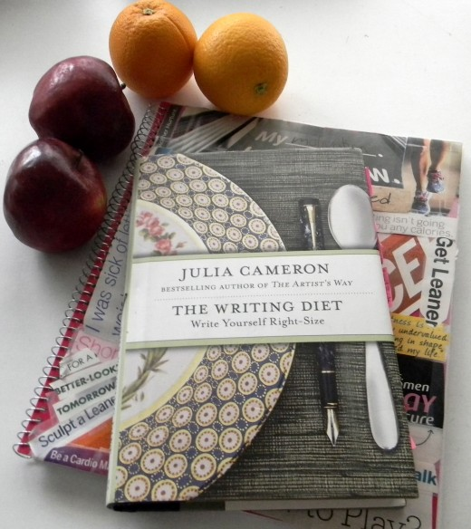 Many writers and artists going through Artist's Way workshops undergo amazing physical transformations along the way. Could The Writing Diet by Julia Cameron do the same for you?