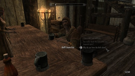 Ah, Windhelm. A great place to be if you're a Nord.