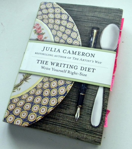 My well worn copy of Julia Cameron's book