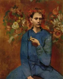 Garcon a la pipe  1905  Rose Period