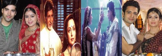 Karva Chauth Scenes from Hindi Serials and Movies
