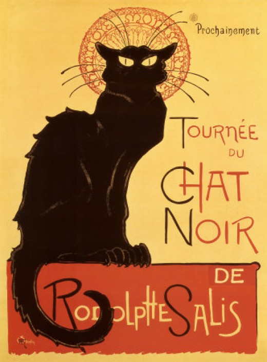 Chat Noir - Théophile Alexandre Steinlen