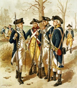 Infantry Continental Army
