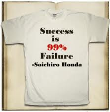 Success is often born out of failure