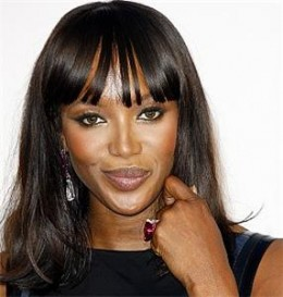 Naomi Campbell,  not African nor American.