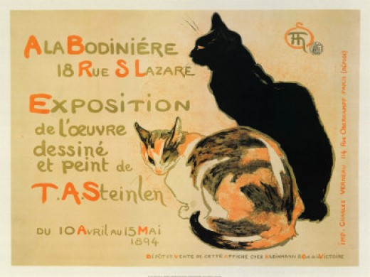 Exposition at Bodiniere - Théophile Alexandre Steinlen