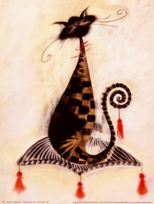 Thomas the Cat - Marilyn Robertson