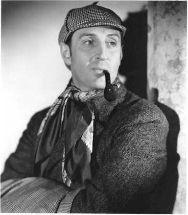 Basil Rathbone the original Sherlock Holmes. He's African!