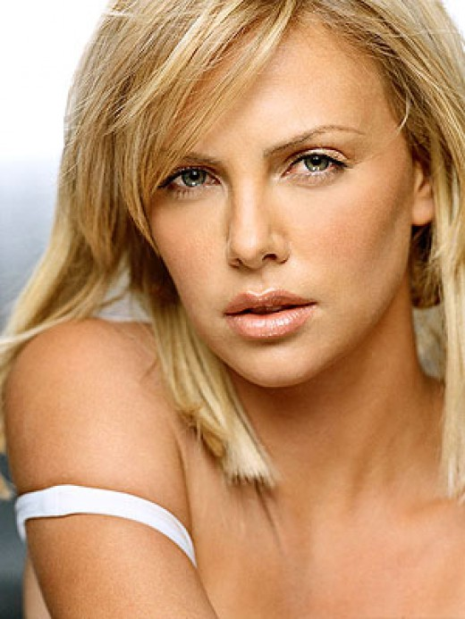 Charleze Theron is African.