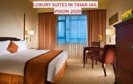 Five star hotel rooms fade into  insignificance when compared to the facilities in Tihar jail  rooms