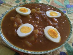 Indian Food for Thought: Potato and Egg Curry