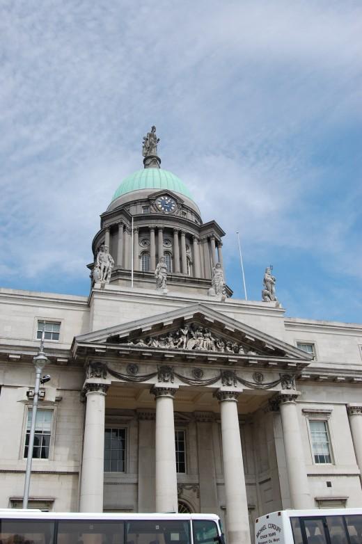 Dublin Custom House from south