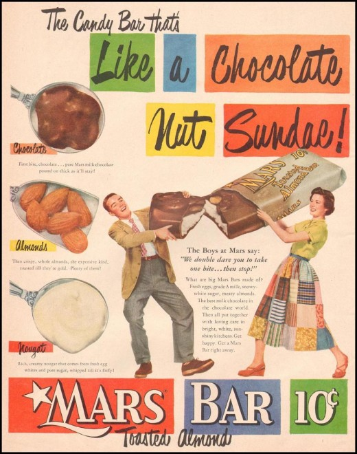 I love Mars candy bars! It's hard to find 'em, but they are still out there!