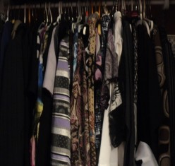 How often do you organize your closet and get rid of clothing  you haven't worn for awhile?