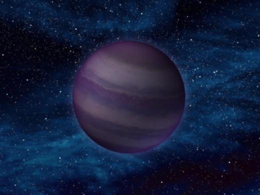 A potential end: Artist depiction of a Y Dwarf, the coldest of brown dwarfs.