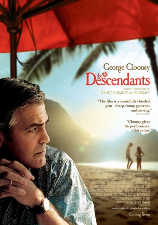 The Descendants Movie Poster #3