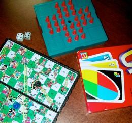 Portable games.