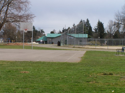 The ball field where I played Little League
