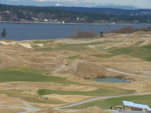 Pioneer Sand & Gravel is now Chamber's Bay Golf Course, site of the 2015 U.S. Open