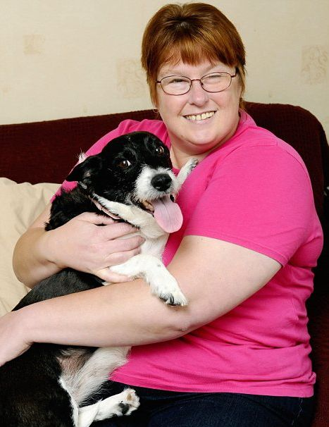 Stella, the amazing border collie cross who has saved her owner's life twice