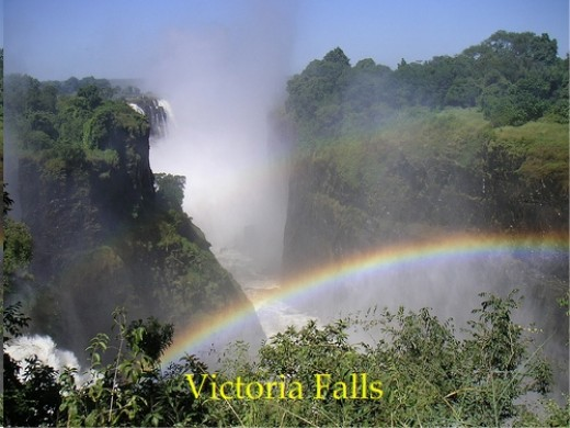 Victoria Falls: Rainbow