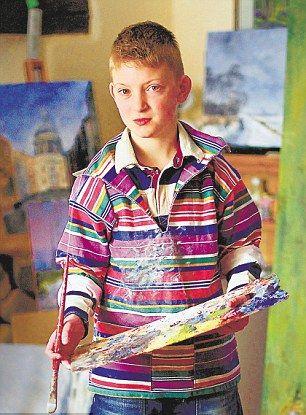 9 year old Kieron Williamson