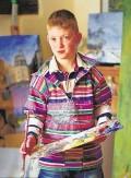 Child Prodigy Artist Kieron Williamson
