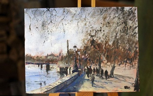 London's Victoria Embankment by Kieron Williamson