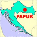 "PAPUK is located in the Croatian ""great plains"" of Slavonija where wheat and other grain products are grown, cattle are raised and great plum brandy is produced."