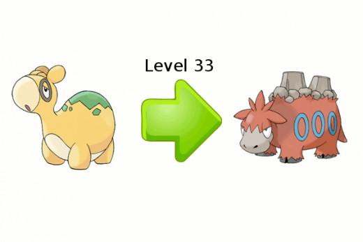 Numel Evolution Chart