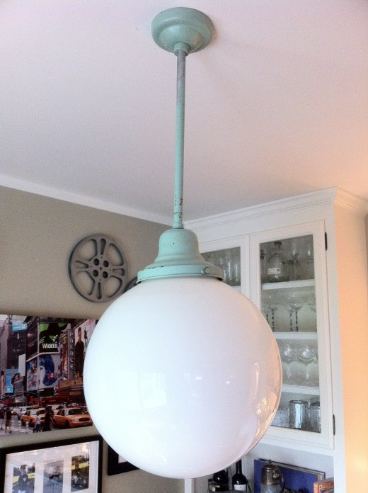 Light pendant purchased for $25