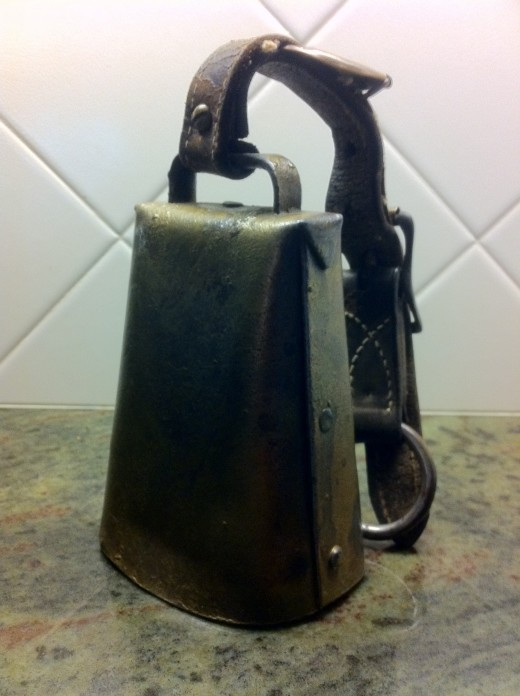 Old-fashioned cow bell for $35