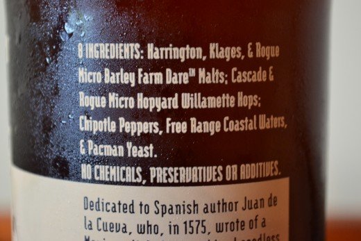 Chipotle Ale Ingredients