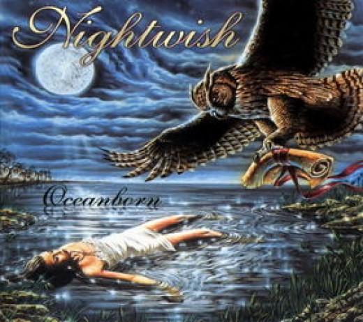"The alternate album cover for ""Oceanborn""."